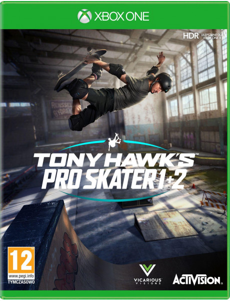 Žaidimas Tony Hawk's Pro Skater 1+2 Xbox One