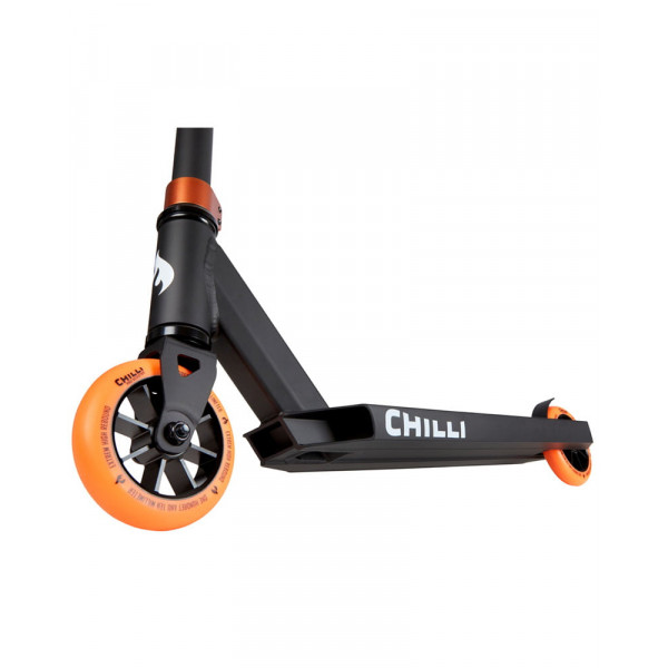 Paspirtukas Chilli Base Black/Orange 118-2