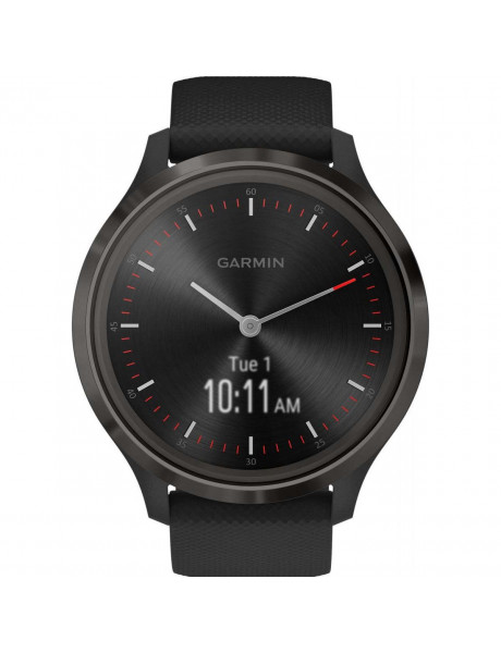 Išmanusis laikrodis Garmin vivomove 3, S/E EU, Slate, Black, Silicone