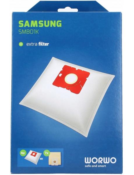 D/S FILTRAS SAMSUNG VP-95B/kompl. 4+mikr. SMB01K