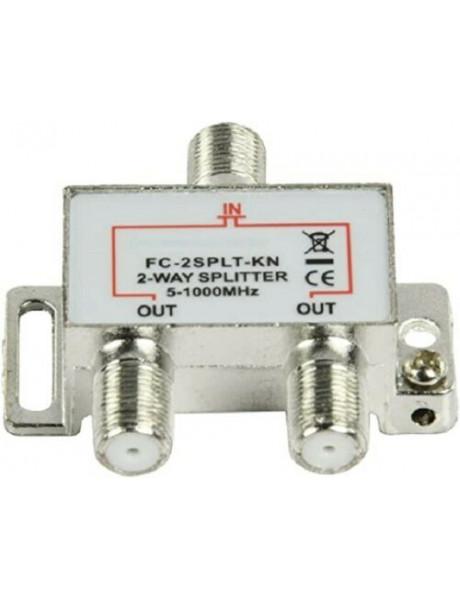 FC-2SPLIT/BL1 TV daliklis į 2 atšakas 5-1000MHz