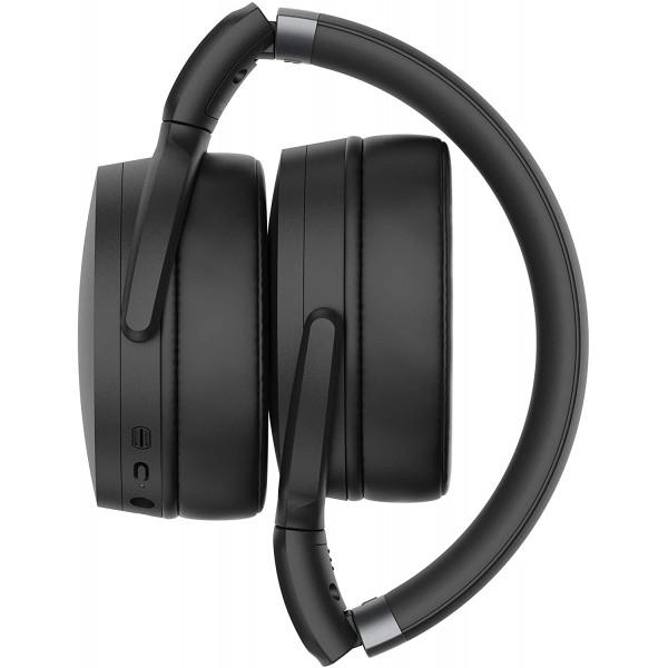 BEVIELĖS AUSINĖS Sennheiser HD 450BT Bluetooth Headset, Wireless, Black
