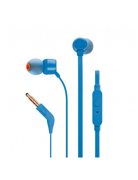 AUSINĖS JBL IN-EAR JBLT110 BLUE