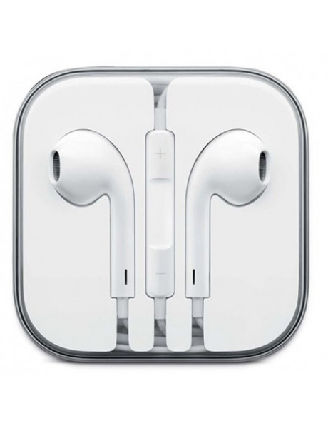 AUSINĖS APPLE EARPODS WITH REMOTE AND MIC B