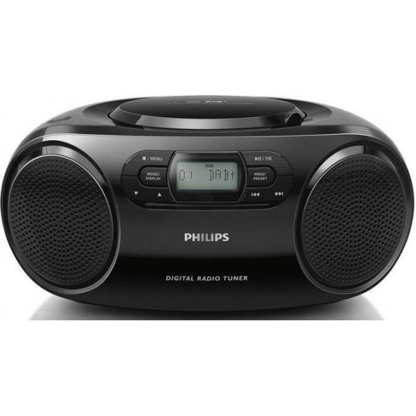 MAGNETOLA PHILIPS CD Soundmachine AZB500/12 DAB+, DAB, FM, Black