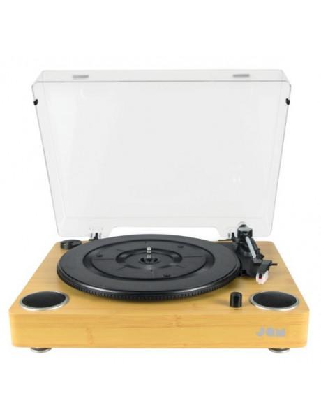 Patefonas Jam Sound Turntable, AUX in, Wood