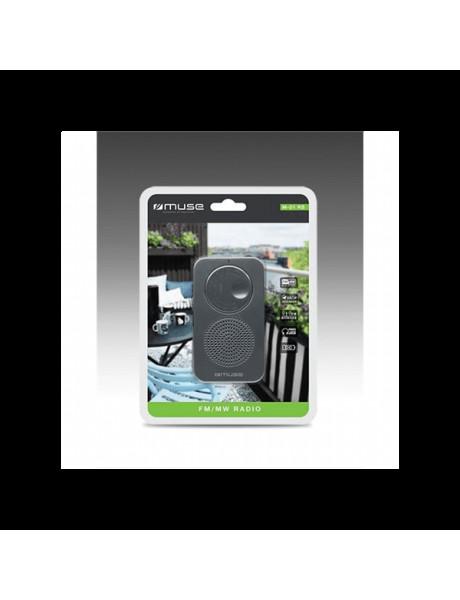 RADIJA Muse Pocket radio M-01 RS Black