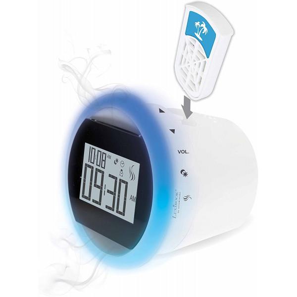 CS100 Olfactory Lexibook radijo imtuvas - laikrodis su žadintuvu