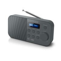 Kolonėlė Muse Alarm function, M-109DB, Portable radio, Black