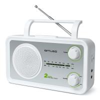 RADIJA FM MUSE M-06SW  BALTA AUX
