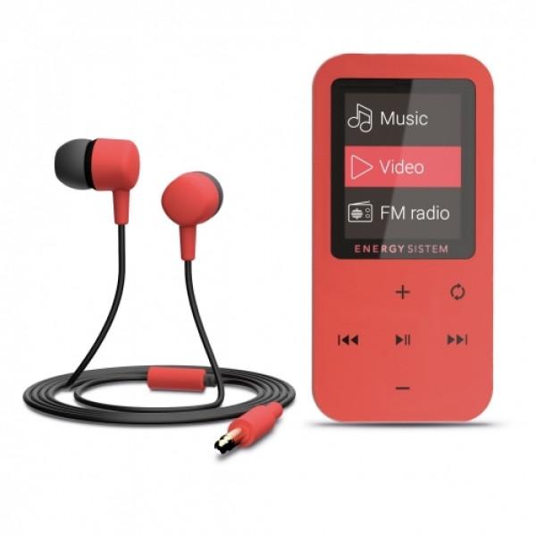 GROTUVAS Energy Sistem MP4 Touch Bluetooth, Coral