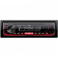JVC KD-X361B TAUTOMAGNETOLA BLUETOOTH / FLAC /ANDROID / USB / AUX /RADIO / 4 X 50W BLACK