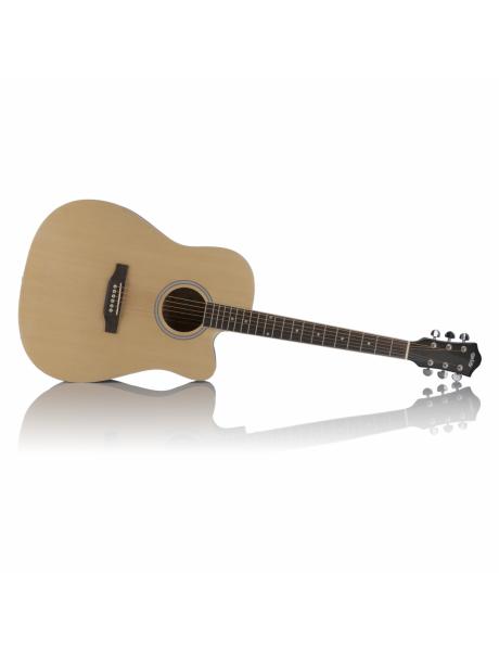 akustinė gitara,šviesi 7 FX-D211C NA 41