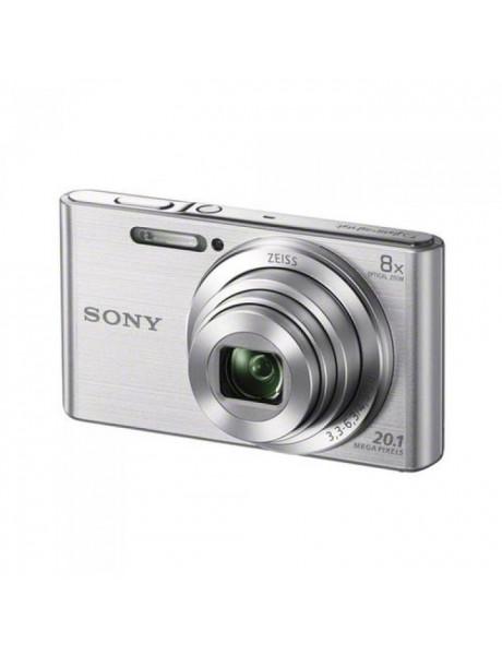 Fotoaparatas SONY CYBERSHOT W830 SIDABRINIS