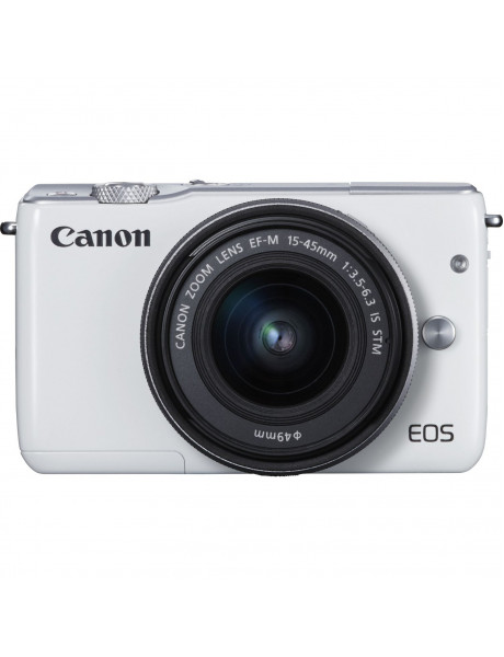 EOS M10 + 15-45 IS STM Canon fotoaparatas White