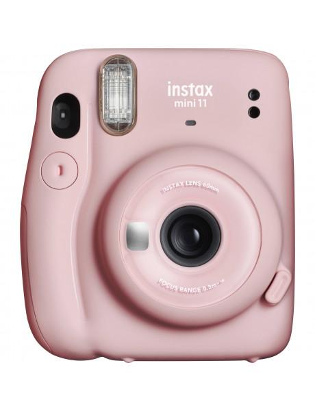 Momentinis fotoaparatas instax mini 11 Blush Pink+instax mini glossy (10pl)