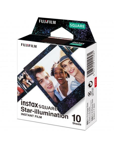 Momentinės fotoplokštelės instax SQUARE STAR ILLUMINATION (10pl)