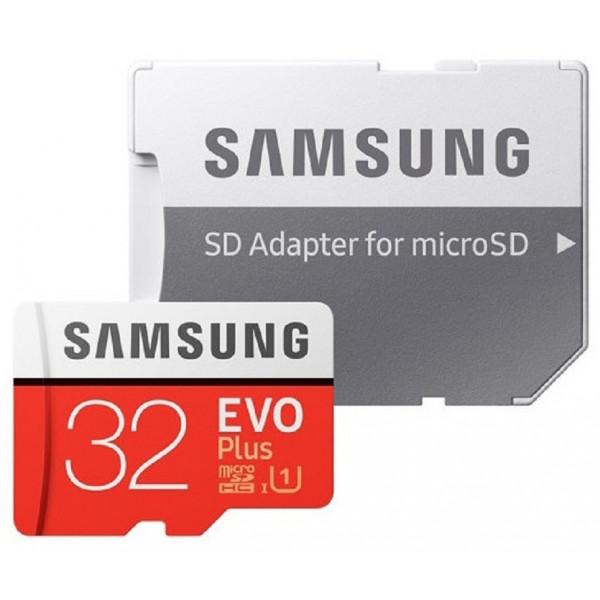 ATM. KORTELĖ SAMSUNG EVO+ 32GB MICRO SDHC CLASS10