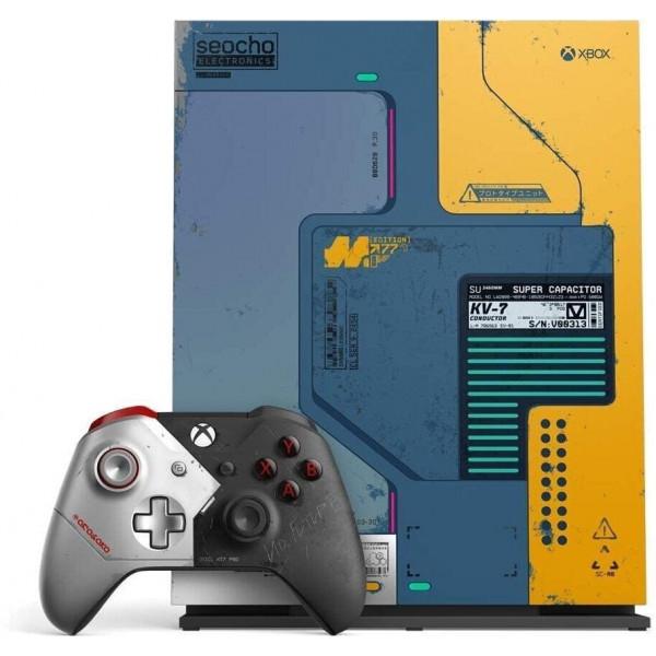 Žaidimų konsolė Xbox One X, 1TB,  Cyberpunk 2077 LIMITED EDITION
