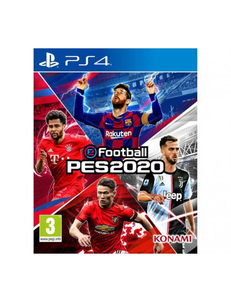 Žaidimas Pro Evolution Soccer 2020 (PS4)