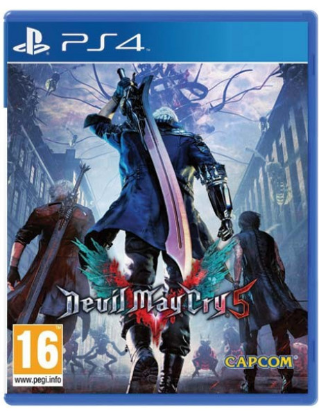 PS4 Devil May Cry 5 (Lenticular Sleeve)