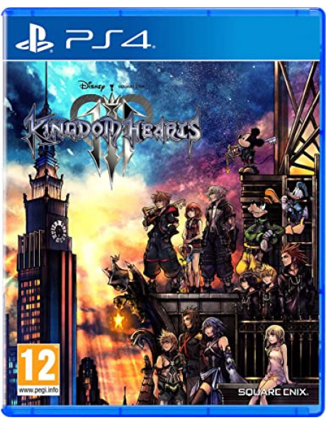 Žaidimas Kingdom Hearts 3 (PS4)