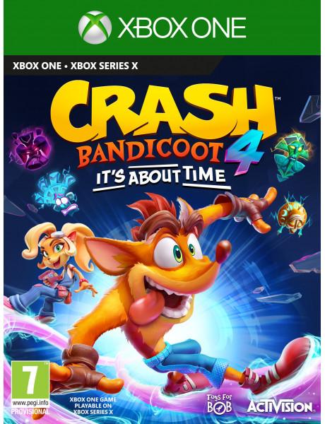 Žaidimas Crash Bandicoot 4: It's About Time Xbox One