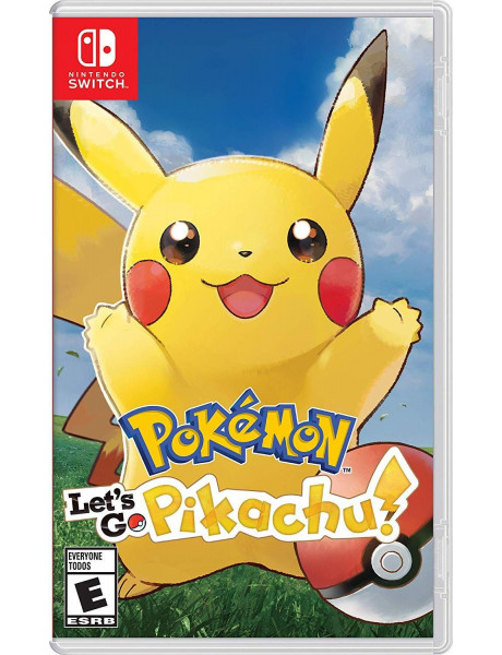 SWITCH Pokémon Let's Go Pikachu UK4 211036
