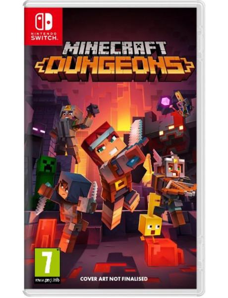 Žaidimas Minecraft Dungeons SWITCH