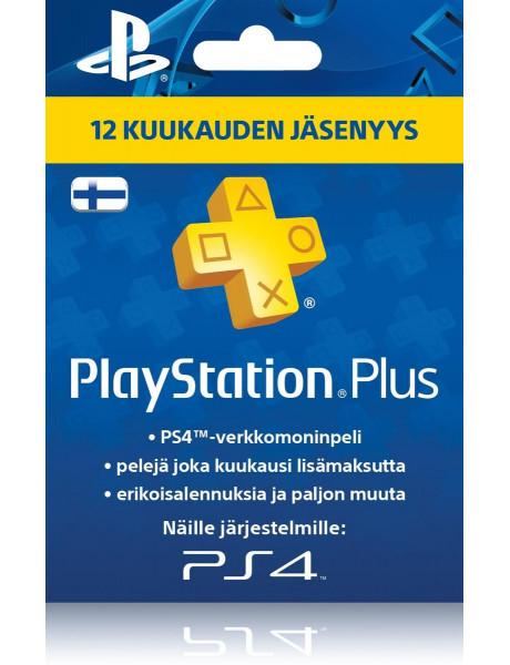 PLAYSTATION NARIO KORTELĖ PS PLUS -12 MĖN V.3 1037553