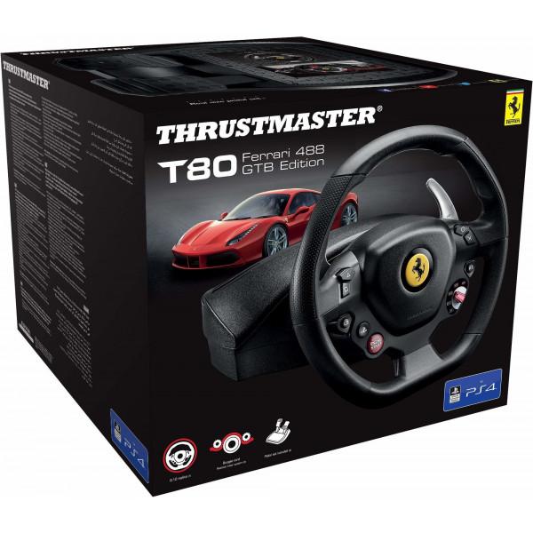 Žaidimų vairas Thrustmaster T80 FERRARI 488 GTB EDITION