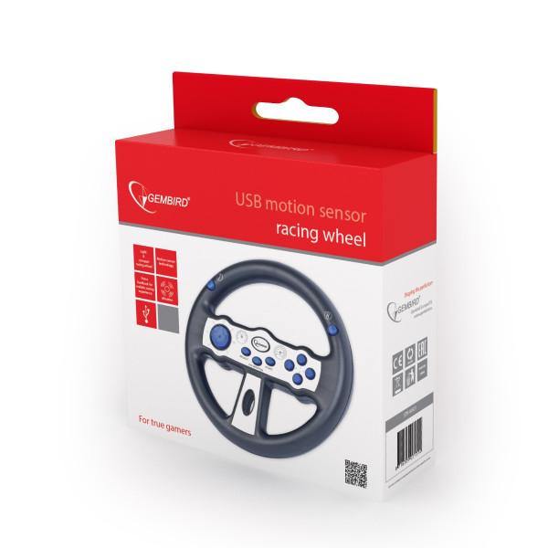 Žaidimų vairas Gembird USB Motion Sensor racing wheel
