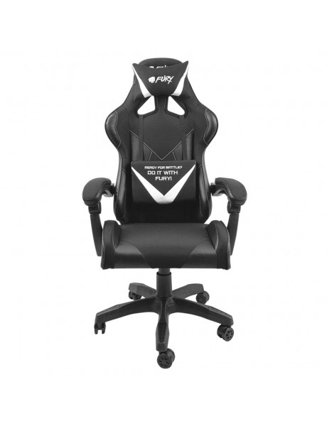 Žaidimų kėdė Genesis Gaming Chair Fury Avenger L Black/White