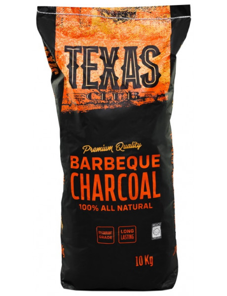 Medžio anglis Texas Club , 10 kg