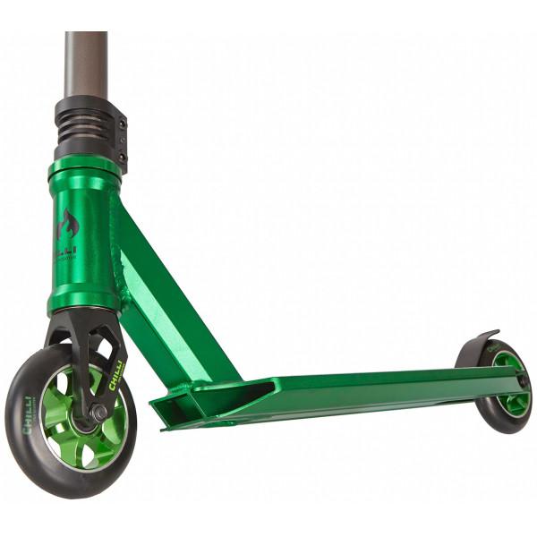 3000 Chilli paspirtukas green/black/tit grey 100mm