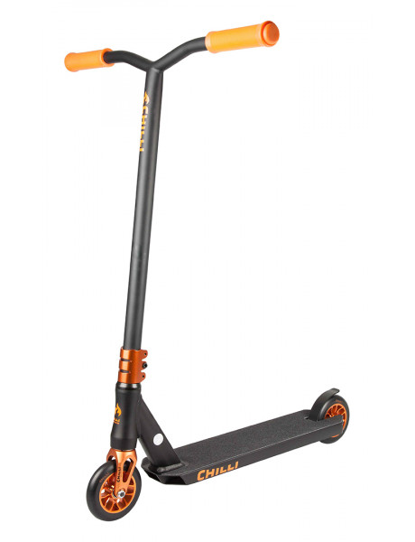 Paspirtukas Chilli Sun Reaper 110mm, black/orange 112-4