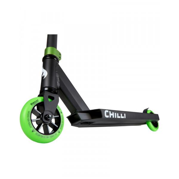 Paspirtukas Chilli Base Black/Green 118-4