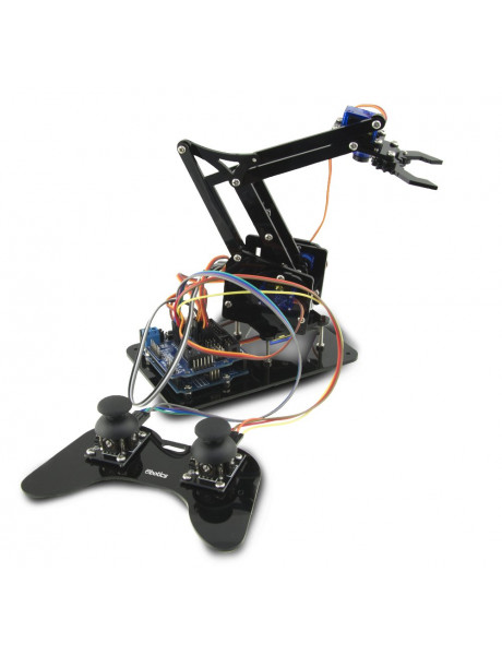 ROBOTIKOS PRADMENŲ RINKINYS EBOTICS Arm Robot Robotics And Programming Kit DYI With Double Joystick