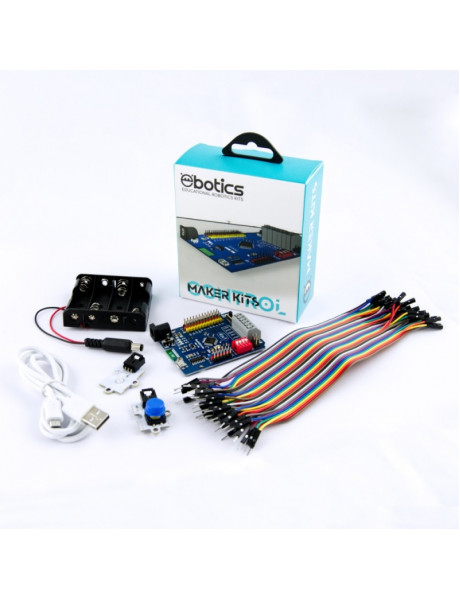 ROBOTIKOS PRADMENŲ RINKINYS EBOTICS Maker Kit Control ASSEKSX00007BL