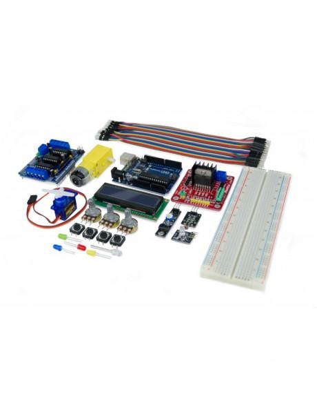 ROBOTIKOS PRADMENŲ RINKINYS EBOTICS Build & Code Plus ElectronicAnd Programming Extended Kit ASSEK