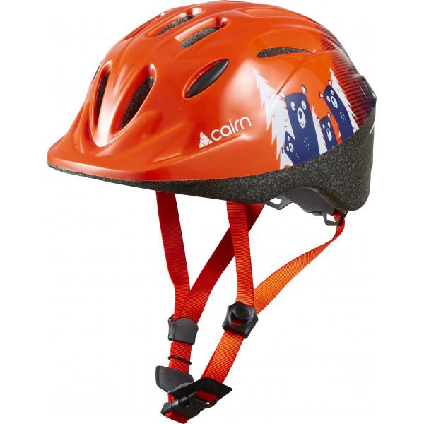 Šalmas Cairn SUNNY Junior orange, XS 48-52 cm