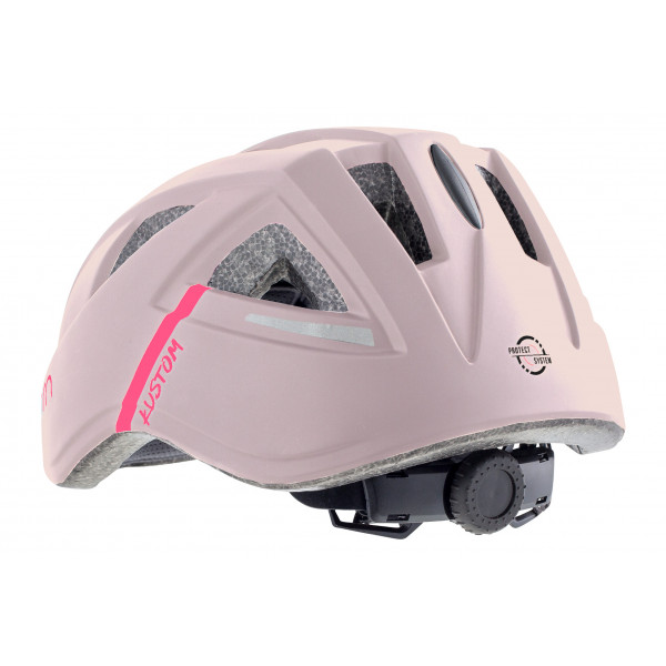 Šalmas Cairn KUSTOM Junior pink, S 52-56 cm