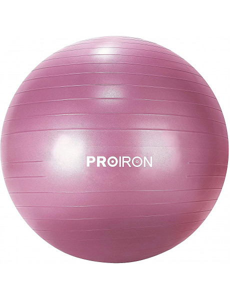 Gimnastikos kamuolys su pompa PROIRON Exercise Yoga Ball Balance Ball, Diameter: 65 cm, Thickness: 2
