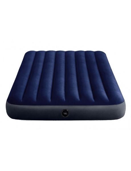 Pripučiamas čiužinys Intex Full Size Dura-Beam Airbed, 137x191x25 cm, Blue