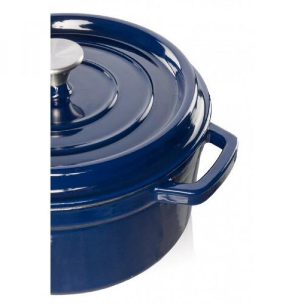 Grand Feu puodas tamsiai mėlynas 4,7l