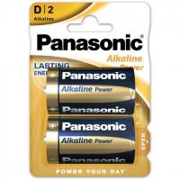 BATERIJA PANASONIC ALKALINE LR20 (D) 2BP