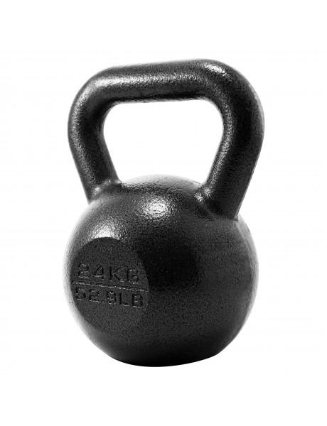 Svarstis PROIRON PRKHKB24K Kettlebell Weight, 1 pc, 24 kg, Black, Cast Iron