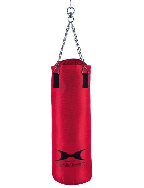 Bokso kriaušė Hammer Punching bag Fit, 60x30 cm, Red