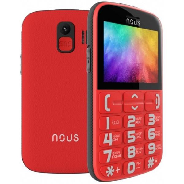 Mob. Telefonas NOUS NS2422 Helper Dual SIM Red
