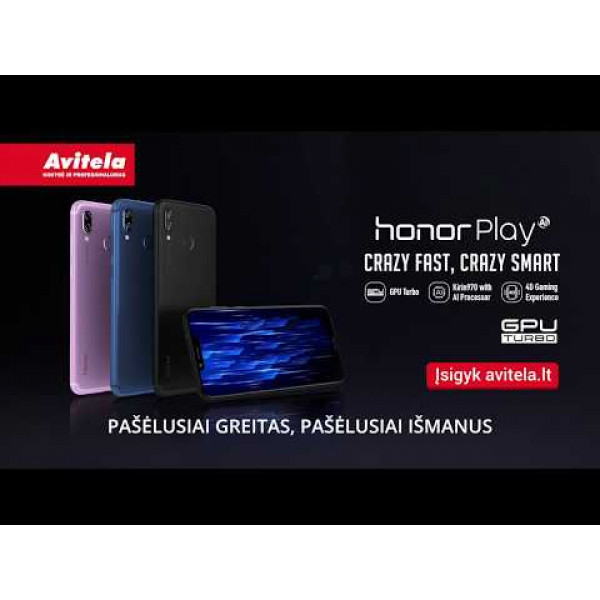 Planšetofonas HONOR PLAY ULTRA VIOLET 64 GB